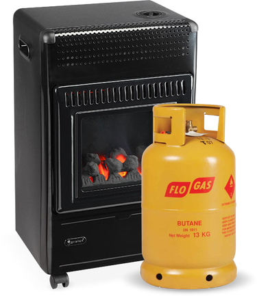 FG50 Ceramic Coal with Gas Cylinder