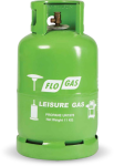 11kg Leisure Gas Cylinder (27mm Clip on Regulator)