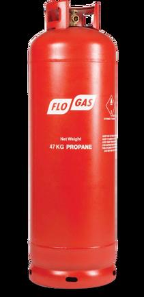 47kg Propane Gas Cylinder (Screw Fit)