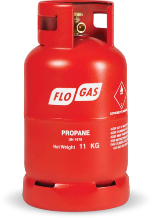 11kg Propane Gas Cylinder (Screw Fit)