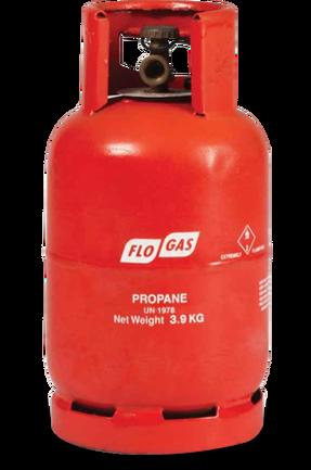 3.9kg Propane Gas Cylinder (Screw Fit)