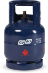 4.5kg Butane Gas Cylinder (20mm Clip on Regulator)